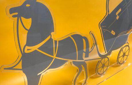 Hermes signage